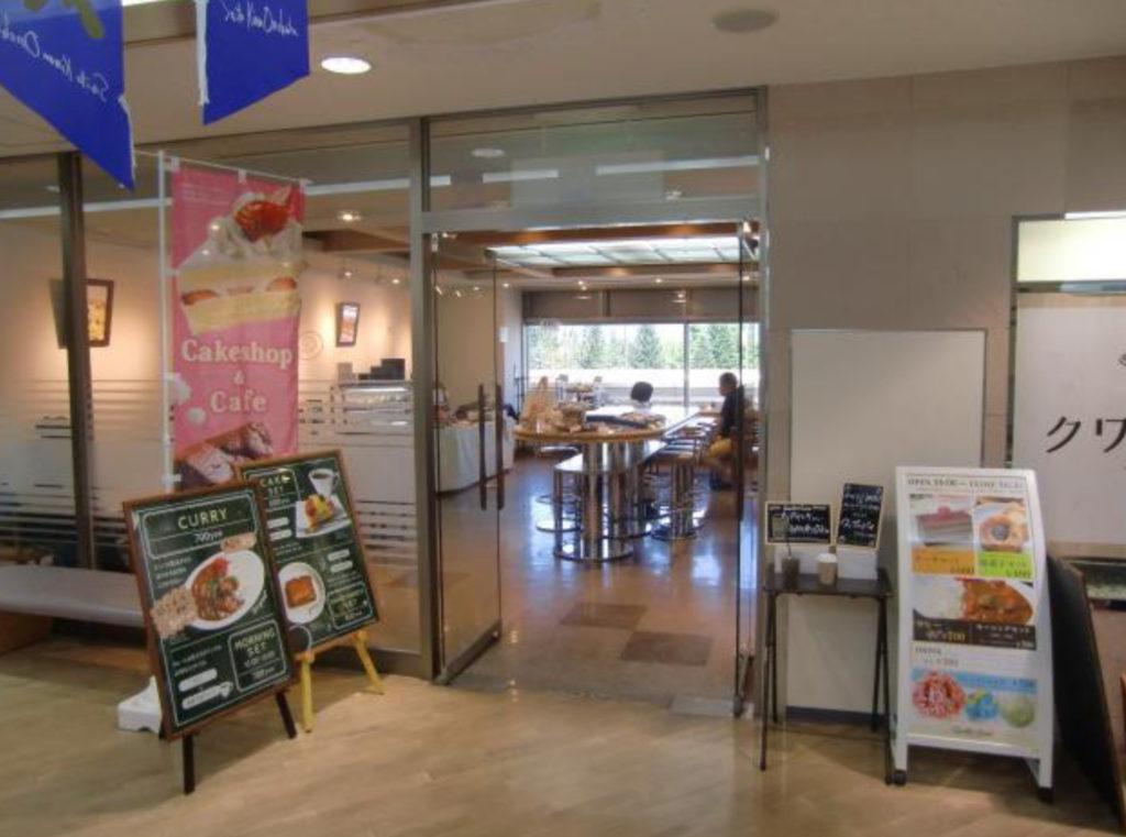信州まつもと空港内にオープンしたカフェ